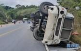 事故現場。(圖源:新華社)