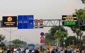 交通堵塞是導致空氣污染的起因之一。