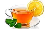 綠茶加檸檬。(示意圖源:互聯網)