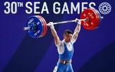石金俊在東運會上取得的304公斤的總成績。(圖源:互聯網)