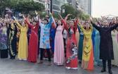 越南長衫盛會已成為本市傳統活動。