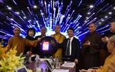越南佛教教會中央電子調度中心開張儀式。(圖源:大團結報)