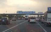 胡志明市-隆城-油曳高速公路收費站。(圖源:VNN)