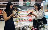 Vinamilk產品在阿里巴巴旗下的 Hema超市上架。