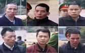 被判死刑的6名被告。(圖源:PLO)