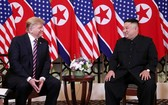 2019年2月27日,朝美領導人第二次在河內會晤。(圖源:路透社)