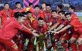 越南國足第二次奪得AFF盃冠軍。(圖源:互聯網)