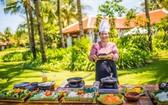 """在度假區的越村餐廳將向遊客推介 """"母親烹飪的美食""""。(圖源:雙英)"""