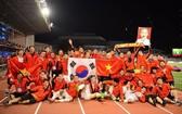 越南U22男足隊勇奪2019年東南亞運動會冠軍。
