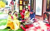 """市青年文化宮的""""越地春節""""活動。"""