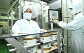 Nutifood公司的奶品生產線一隅。