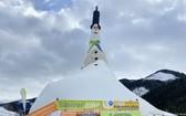 世界上最高的雪人:38.04米。(圖源:APA)