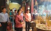 市委副書記武氏蓉參觀二府會館。