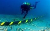 海底光纜故障致互聯網不穩定。(示意圖源:互聯網)