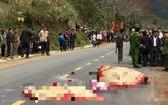 車禍現場,3人當場死亡。(圖源:VNN)