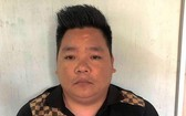 被扣押的特大網賭團夥頭目陳文俊。(圖源:TNO)