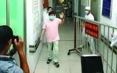 李鼎大叔(音)昨天12日康復出院。(圖源:互聯網)