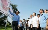 政府副總理鄭廷勇考察隆城機場建設場地。