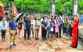 我國遊客在長安歷史遺跡區參觀。(圖源:互聯網)