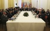 當地時間2月26日,伊朗核問題全面協議聯合委員會政治總司長級會議在奧地利維也納舉行。(圖源:AP)