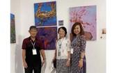 華人畫家陳芳美參加國際女畫家邀請展