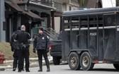 警方已抵達案發現場進行道路封鎖。(圖源:AP)