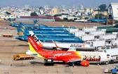受新冠肺炎疫情影響,各航空公司營收大減。(示意圖源:互聯網)