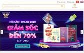 自本月2至29日期間,市書籍發行公司(FAHASA)在Fahasa.com網站舉辦2020年Fahasa 網上書展活動。(圖源:Fahasa網站截圖)