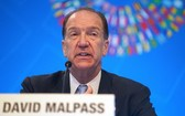 世界銀行行長戴維·馬爾帕斯。(圖源:新華社)