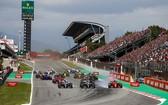 F1巴塞羅那測試賽正在進行。(圖源:互聯網)
