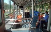 疫情中的19號巴士線運營毫無生氣。