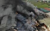 火警現場。(圖源:視頻截圖)