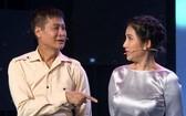 導演黎煌與女藝人吉祥參加《眾口難調》節目。
