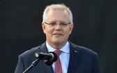 澳洲總理莫里森。(圖源:歐新社)