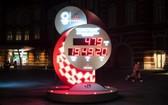 東京街頭的奧運會倒計時牌重新啟動計時。(圖源:互聯網)