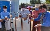 斯次該團協助前江省3個地方裝置3個濾水器。