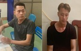 落網的2名劫匪阮泰成(左圖)和武鴻光。(圖源:大俠)