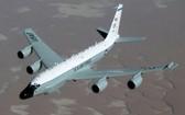 美國空軍偵察機RC-135W。(圖源:韓聯社)