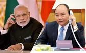 阮春福總理昨(13)日下午在政府辦公廳與印度總理納倫德拉‧莫迪通話。(示意圖源:互聯網)