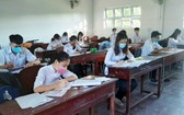 4月20日,金甌省高三學生正式返校復課。(圖源:慶興)