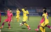 乂安藍江俱樂部(淺色)與西貢隊都將在國家盃的頭一輪賽事比賽。(圖源:互聯網)