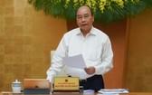 政府總理阮春福主持會議。(圖源:VGP)