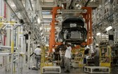 圖為巴西里約熱內盧Resende工業園區的日產汽車組裝廠車間一瞥。(圖源:互聯網)
