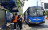 本市全部巴士今起恢復運營。(圖源:黎紅幸)