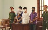 出庭受審的3名被告人。(圖源:忍南)