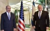 以色列總理內塔尼亞胡(左)與美國國務卿蓬佩奧。(圖源:AFP)
