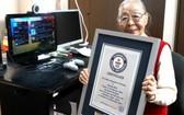 森濱子被吉尼斯認定爲世界最高齡遊戲主播(圖源:吉尼斯官方網站)