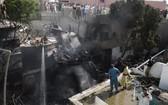 墜機事故現場。(圖源:互聯網)