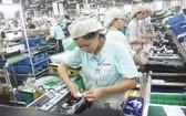 佳能公司在越南的生產線。