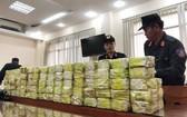 本市公安力量起獲總量近317公斤以茶葉包裝作掩飾的毒品。(圖源:警方提供)